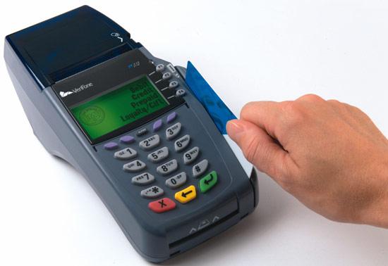 Thanh toán quẹt thẻ